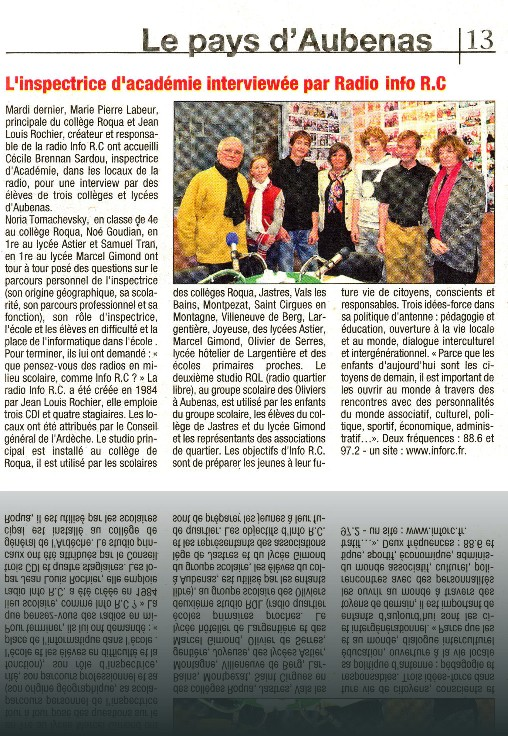 Article_Tribune_19-1-12_Inspectrice